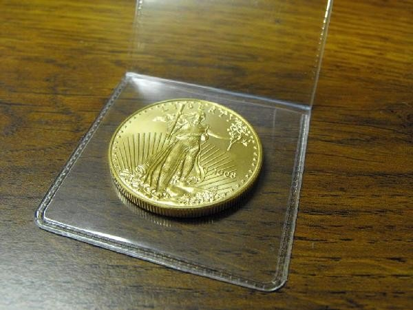 1B: 1 oz. US Minted Gold Eagle Coin