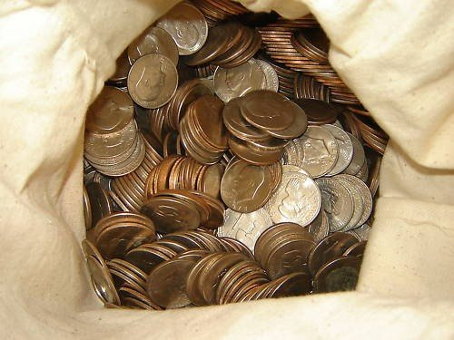 1Z: Lot of 1800 IKE DOLLARS - In bags Unsearched!