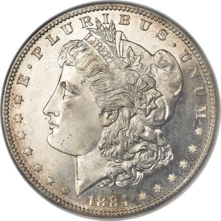 2: 1884-O Morgan Silver Dollar