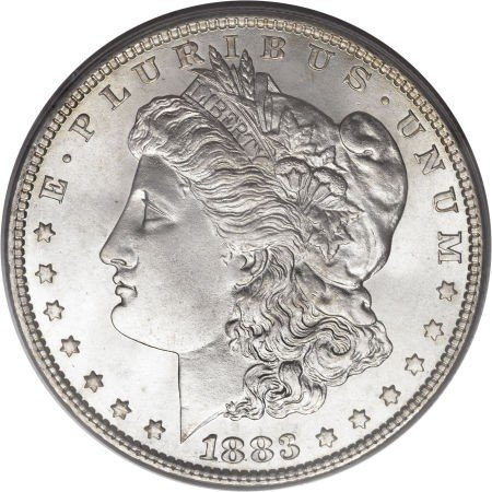 3: 1883-O Morgan Silver Dollar