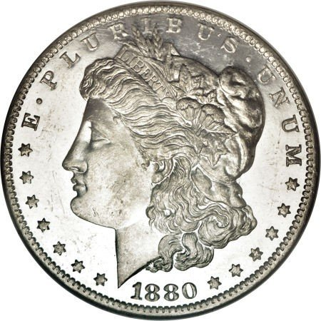 6: 1880-O Morgan Silver Dollar