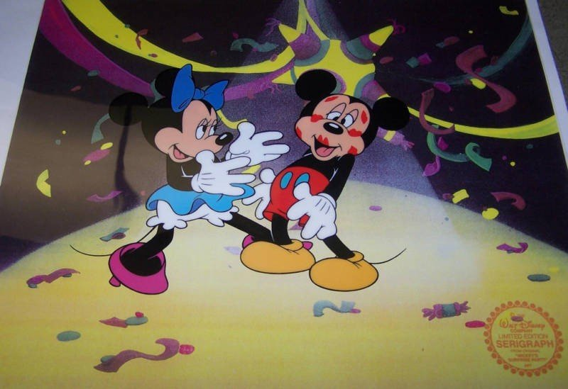 1X: Limited Edition Disney Cel - Mickey's Surprise