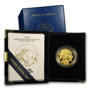 1C: 2006 Gold PROOF BUFFALO in CASE