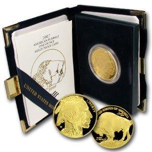 2C: 2007-W 1 oz Proof Gold Buffalo Low Mintage