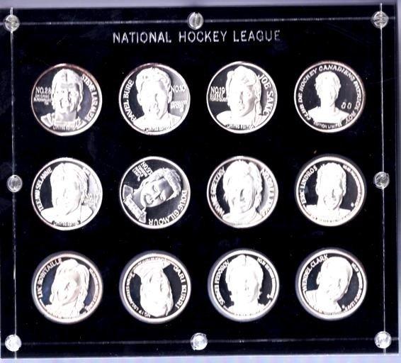 5: 12 oz. Canadian Hockey Great Silver