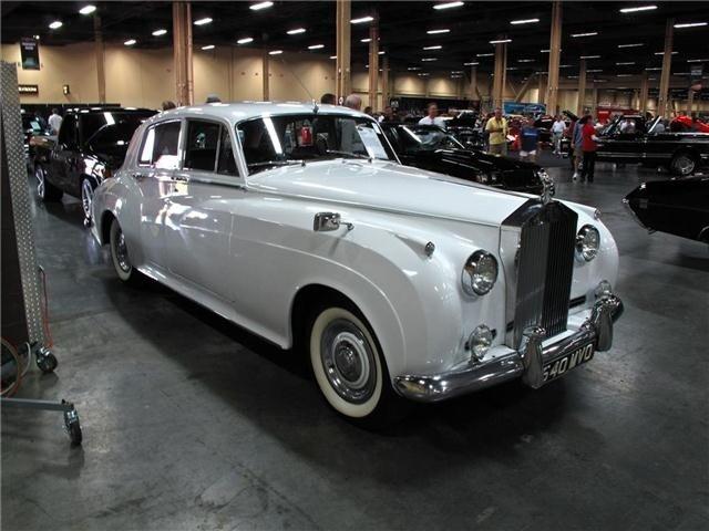 1W: 1961 Rolls Royce SILVER CLOUD II SEDAN RHD
