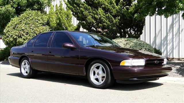 4W: 1995 Chevrolet IMPALA SS SUPER SPORT