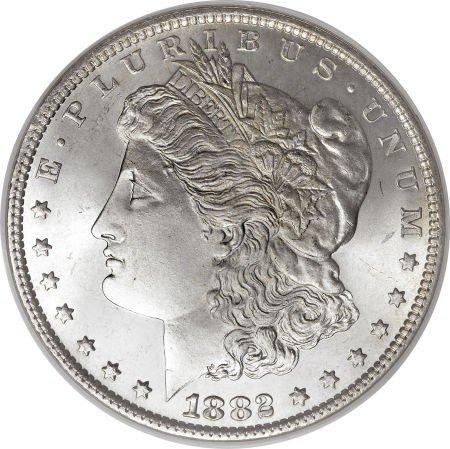 2: 1882 O BU Morgan Silver Dollar