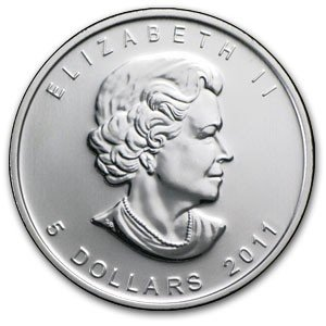 1D: A 1 oz. Silver Maple Leaf Bullion