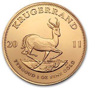2H: A 1 oz. Gold Kruggerand Bullion