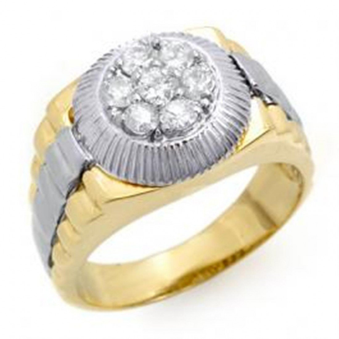 1F: Rolex Style Man's Ring