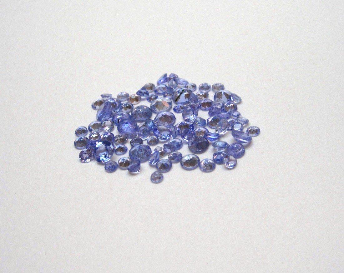 2G: A 5.06 ct Tanzanite parcel gemstone VVS