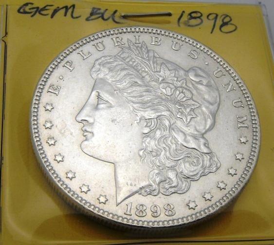 3E: 1898 P Gem BU Morgan