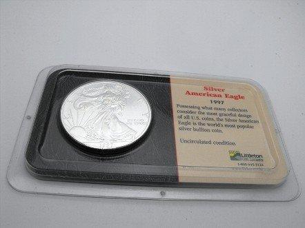 1A: 1997 US Mint Silver Eagle