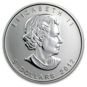 1C: A 1 oz. Silver Maple Leaf Bullion