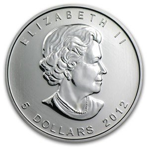1C: A 1 oz. Silver Maple Leaf Bullion