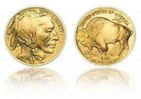 1K: 1 oz Us Gold Buffalo Bullion 24K .9999