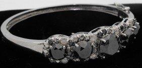 15.81 Tcw. Black Dia. Bracelet App.$34,568
