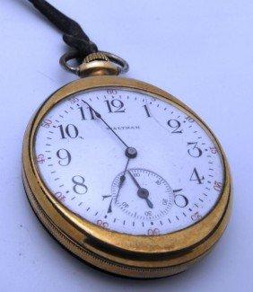 1P: Waltham Working Pocket Watch