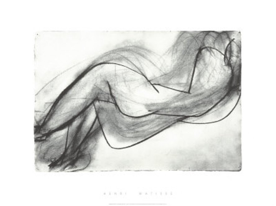 1T: High Quality Serigraph - Matisse - Nude