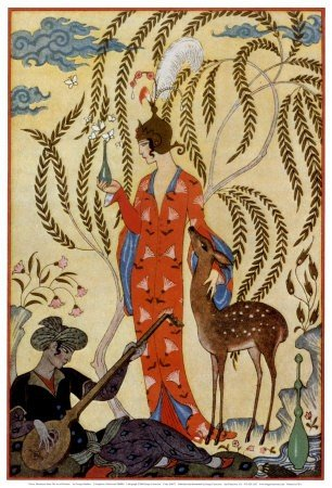3T: GEORGES BARBIER - PERSIA -