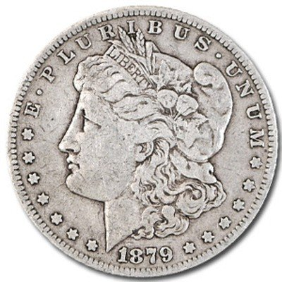 8S: 1879 Morgan VG Grade