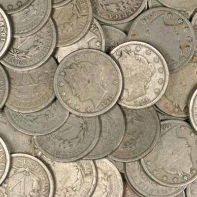 9S: (100) V Nickels from Photo - AG-VG
