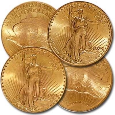 13S: (1) Saint Gauden's $ 20 Gold from Photo