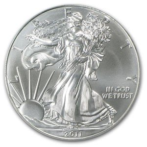 1: A 1 oz. Silver Eagle Bullion