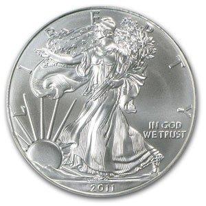 4: A 1 oz. Silver Eagle Bullion