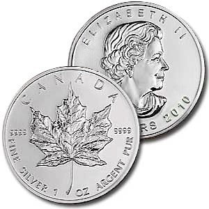 3C: A 1 oz. Silver Maple Leaf Bullion