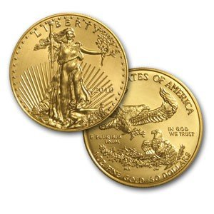 110O: 1oz American Gold Eagle .999 Pure