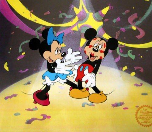 3T: Mickeys Surprise Limited Edition Seri-Cel Disney