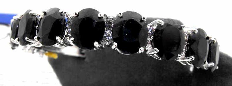 4M: $27K Full Appraisal Sapphire Bracelet