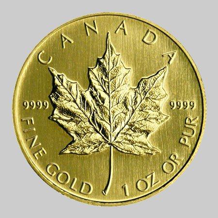 23S: 1 oz Gold Maple Leaf Bullion Coin