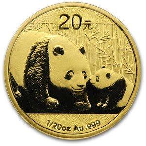 28S: 1/20th Ounce Panda Gold Bullion