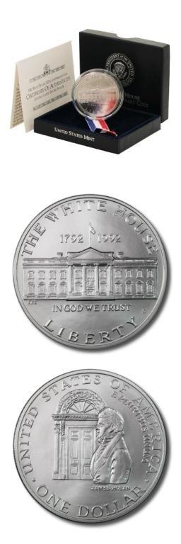 30S: White House Commemorative-1992D-