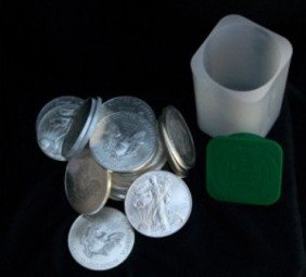 Roll Of American Silver Eagles