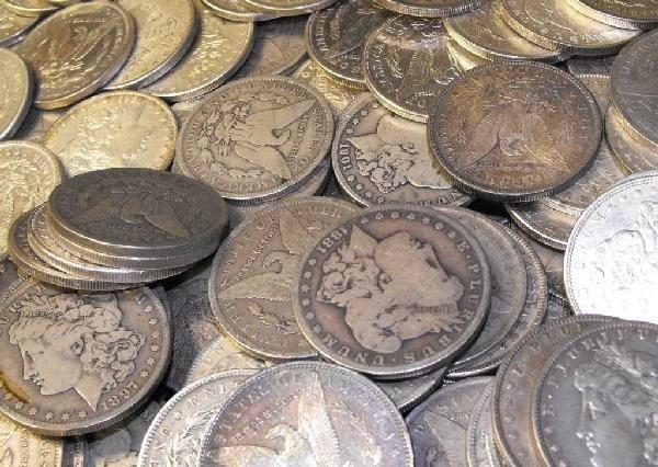34O: Lot Of 20 Morgan Silver Dollars