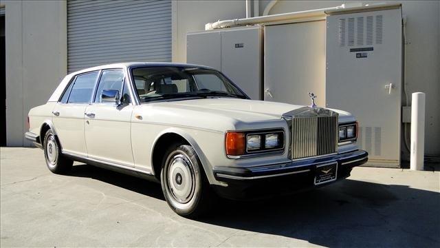 2W: 1987 Rolls Royce SILVER SPUR
