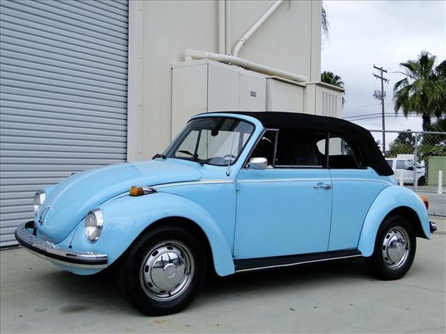 3W: 1973 Volkswagen KARMANN CONVERTIBLE