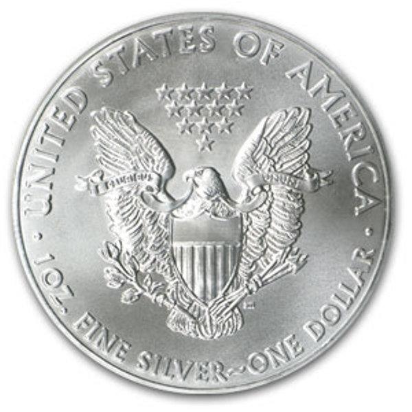 3D: A 1oz. Silver Eagle Bullion