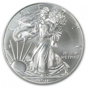 1D: A 1oz. Silver Eagle Bullion