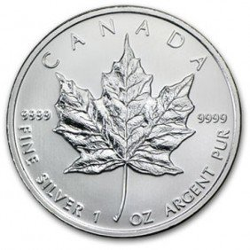 2F: A 1oz. Silver Maple Leaf Bullion