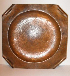 Arts And Crafts Copper Charger - Large