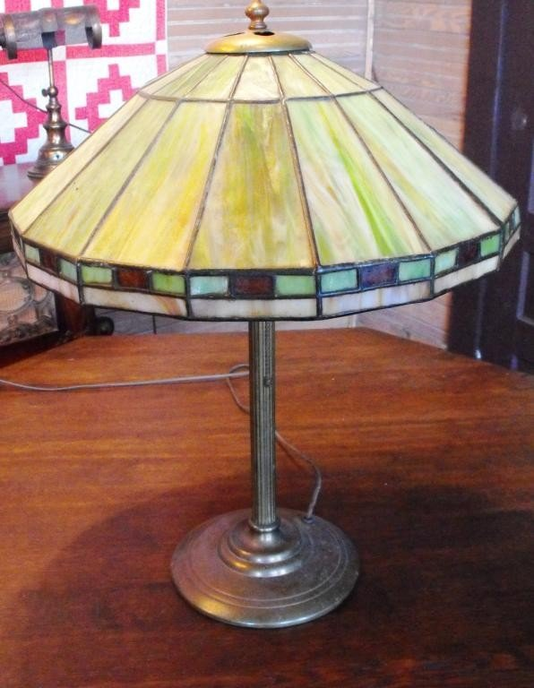 2B: Duffner & Kimberly Arts and Crafts Lamp