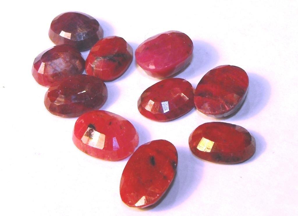 12D: 67.55 tcw Ruby Gemstone Parcel