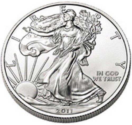 12S: a 1 oz. Random Date UNC US Silver Eagle