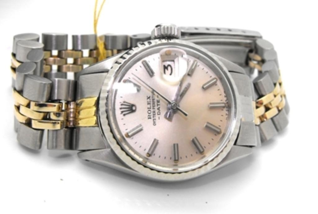 10M: $6,500 Appraised Ladies Rolex 2 Tone