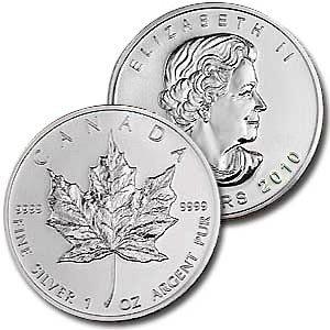 3C: A 1 oz. Silver Maple Leaf Bullion